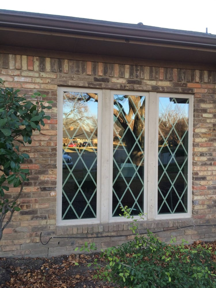 After replacing old leaded glass windows with new for Good replacement windows