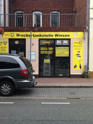 druckertankstelle winsen dpd paketshop bahnhofstr 18. Black Bedroom Furniture Sets. Home Design Ideas