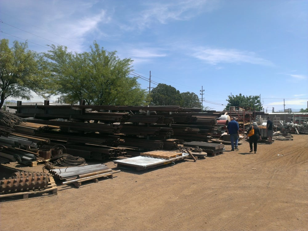 They Have Tons Of Scrap Today And A Huge Stack Of Sheet