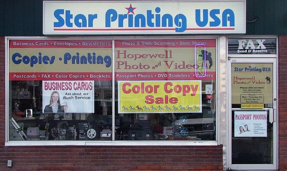 Star Printing USA: 410 Rt 376, Hopewell Junction, NY