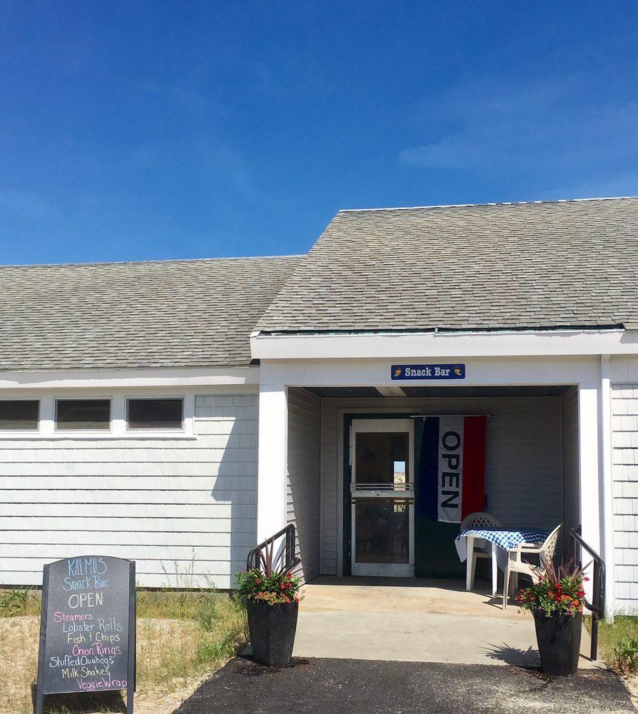 Kalmus Snack Bar: 670 Ocean St, Barnstable, MA
