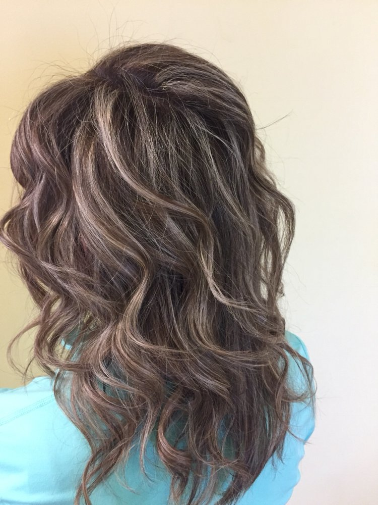 Ashy Highlights On Natural Brown Hair Yelp