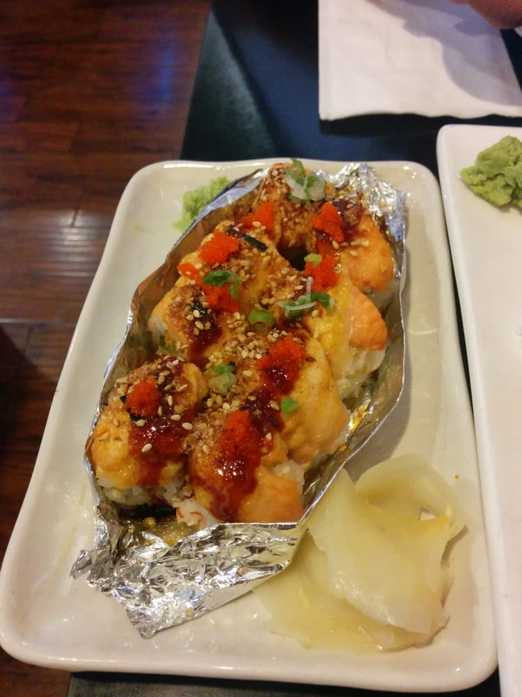 Special of the day upgraded version of lion king d yelp for Angry fish sushi