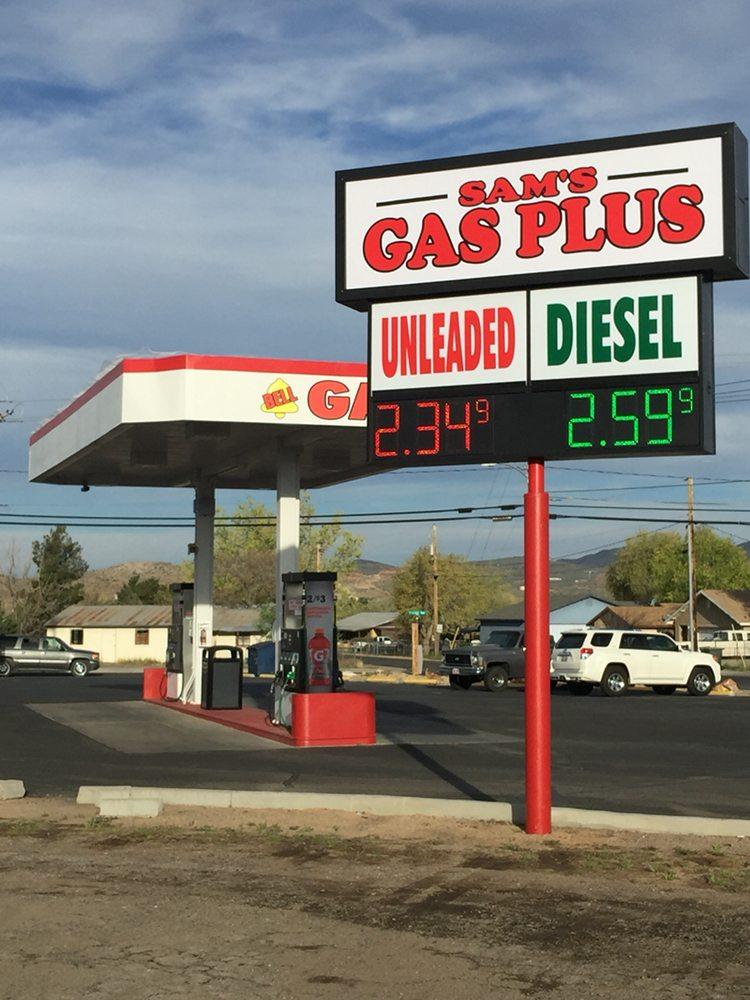 Sam's Gas Plus: 2266 Kingman Ave, Kingman, AZ