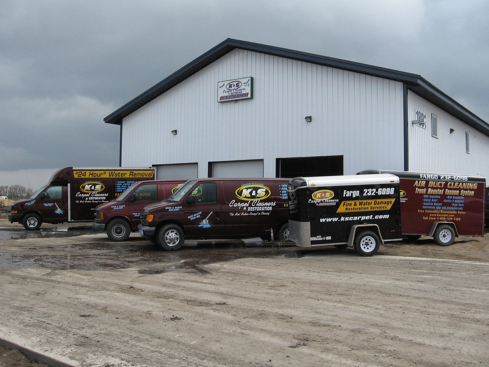 K&S Carpet Cleaners & Restoration: 1801 43rd St N, Fargo, ND