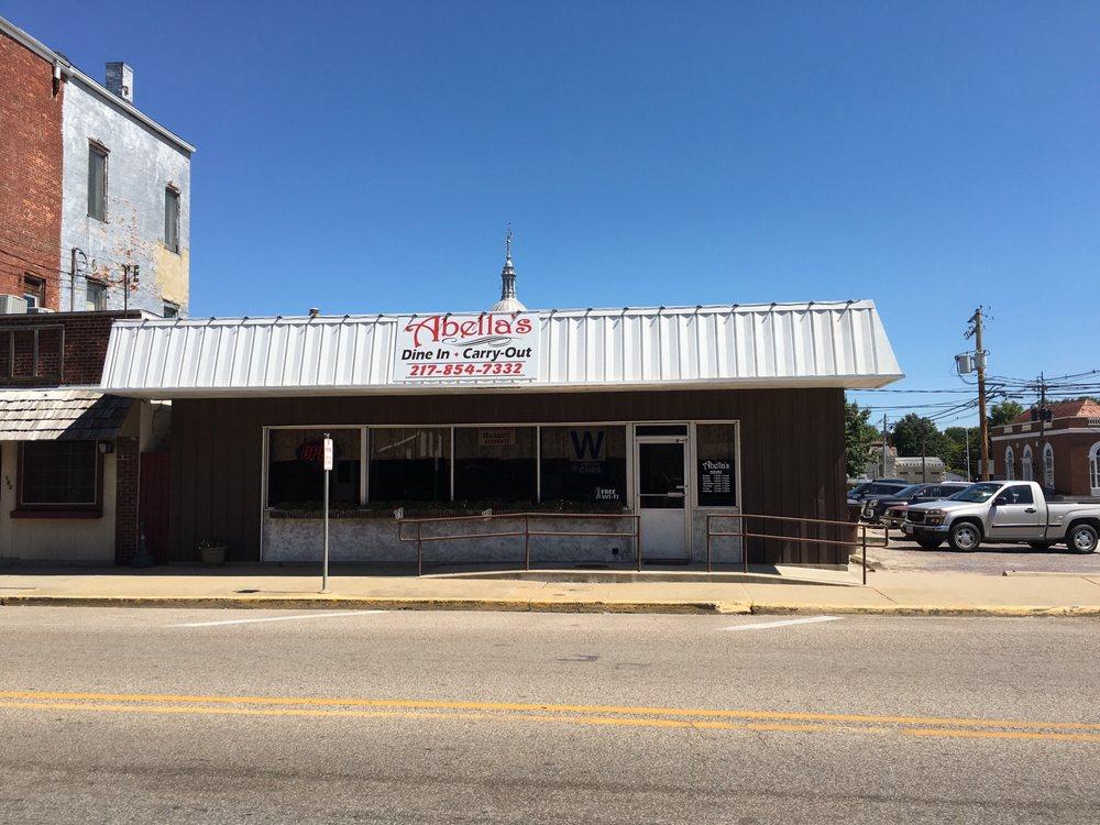 Abella's Restaurant: 127 S Broad St, Carlinville, IL