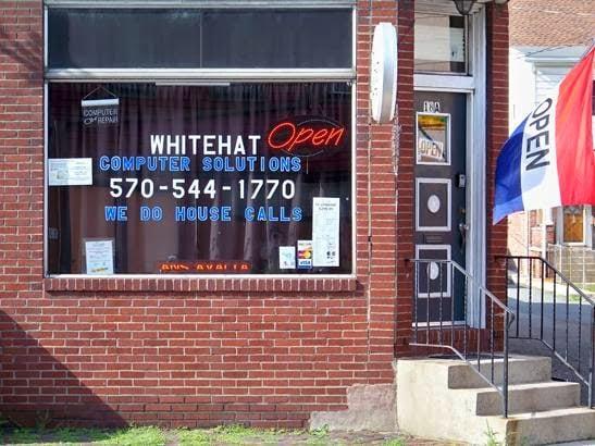 Whitehat Computer Solutions: 18 Sunbury St, Minersville, PA