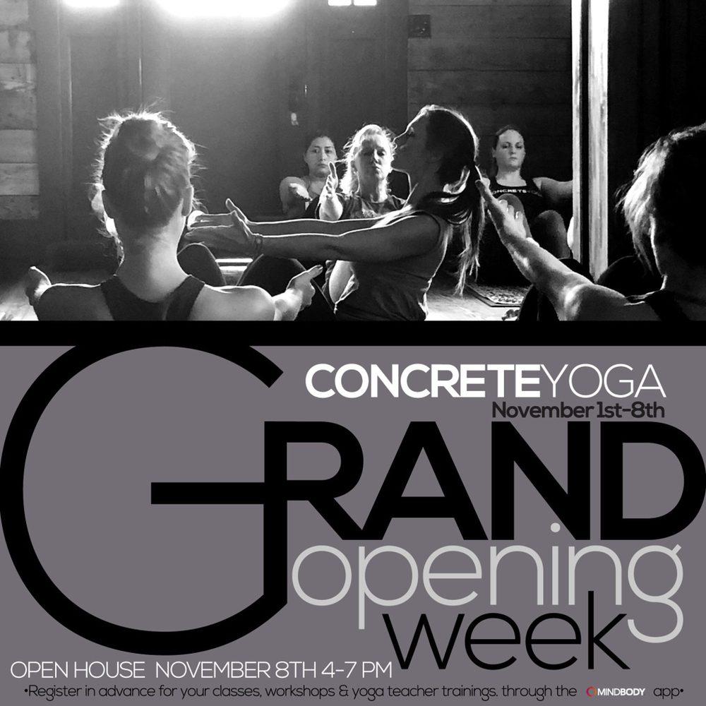 Concrete Yoga: 203 Rawe Ave, Cibolo, TX