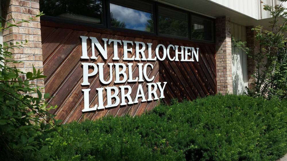 Interlochen Public Library: 9700 Riley Rd, Interlochen, MI