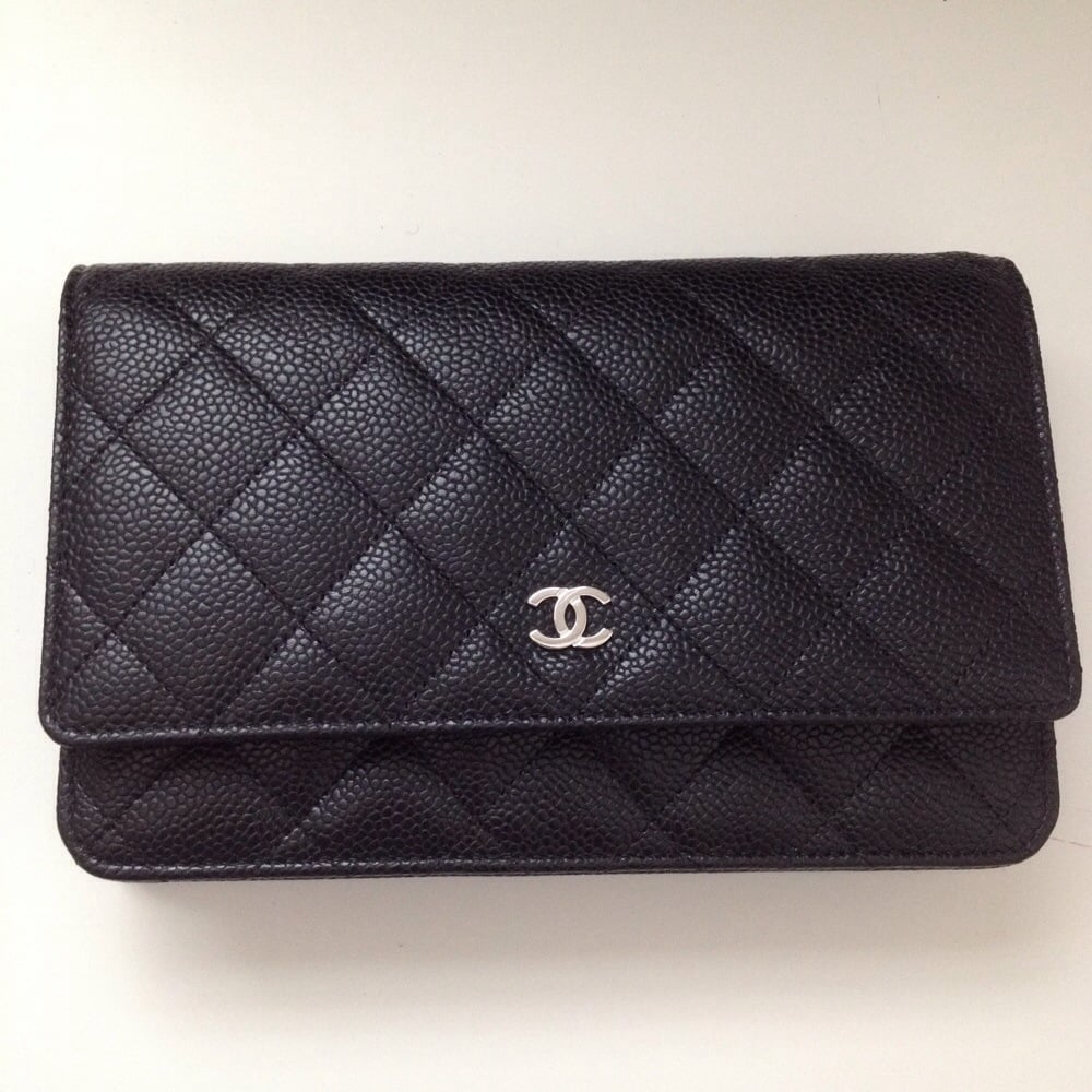 8495e2441f3c As a clutch. Chanel wallet purse also called wallet on chain in ...