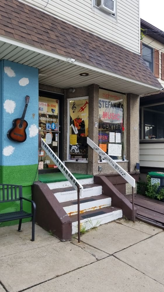 Stefanik's Music Center: 735 Front St, Freeland, PA