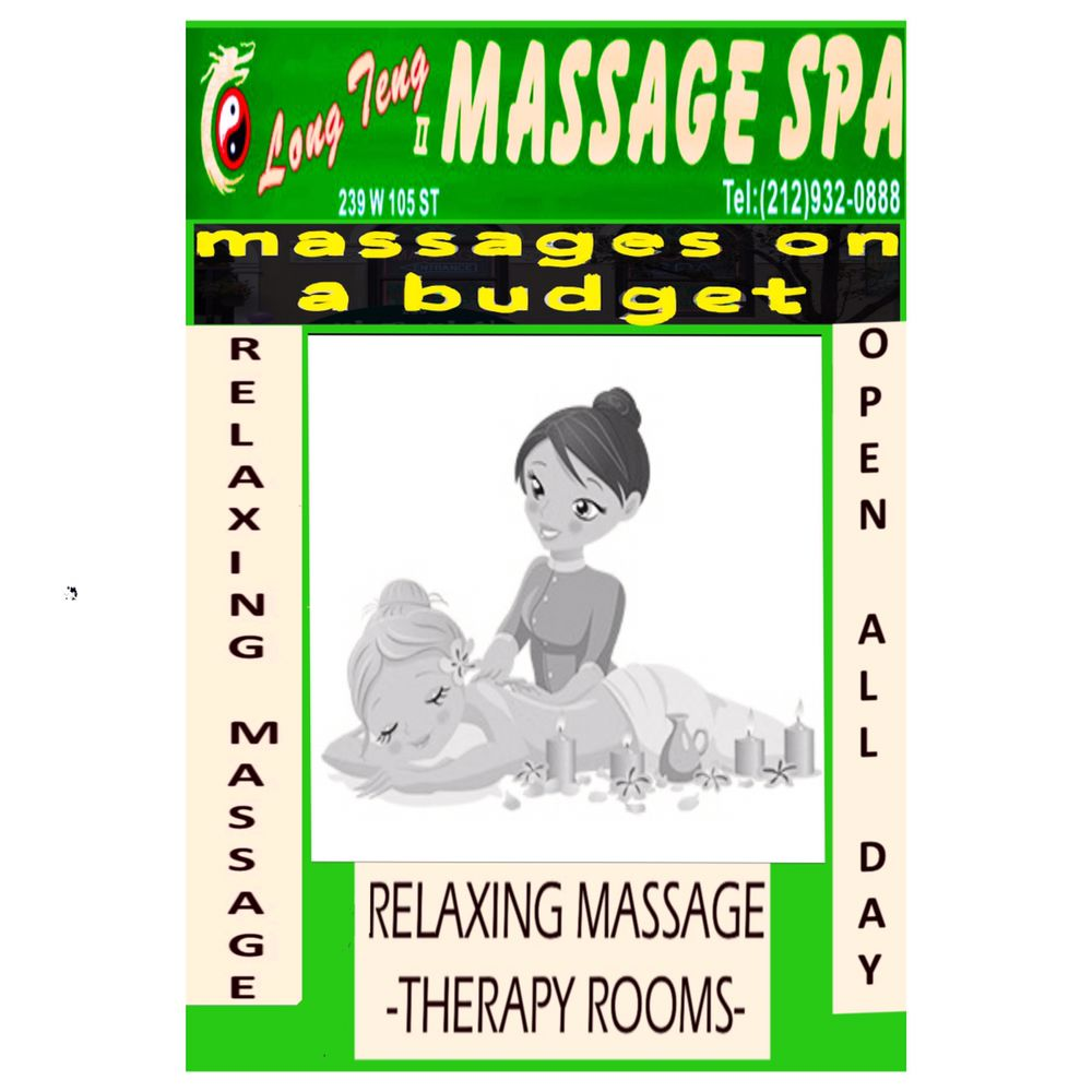 Long Teng II Massage Spa: 239 W 105th St, New York, NY