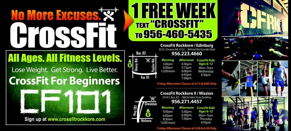 Crossfit Rockkore: 323 E Owassa Rd, Edinburg, TX
