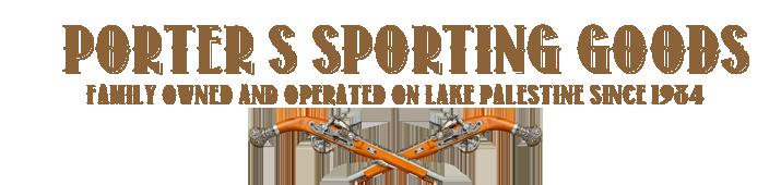 Porter's Sporting Goods: 21973 Hwy 155 S, Flint, TX