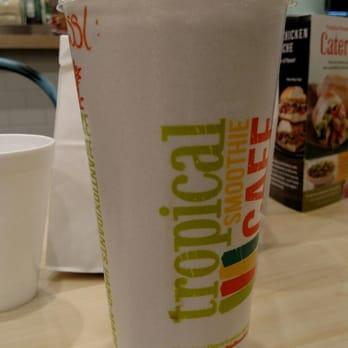 Tropical Smoothie Cafe Menu Fort Worth