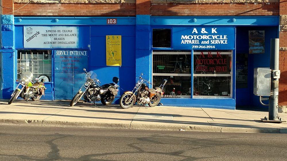 A & K Motorcycle Apparel & Service: 2648 Santa Fe Dr, Pueblo, CO