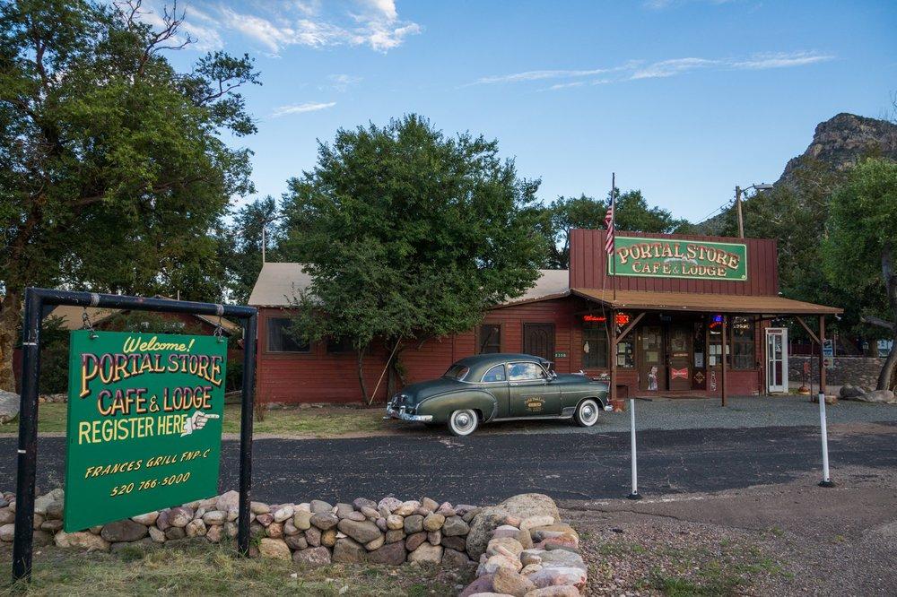 Portal Cafe: 2358 South Rock House Rd, Portal, AZ