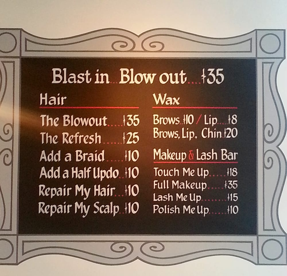 Blow Dry/Out Services