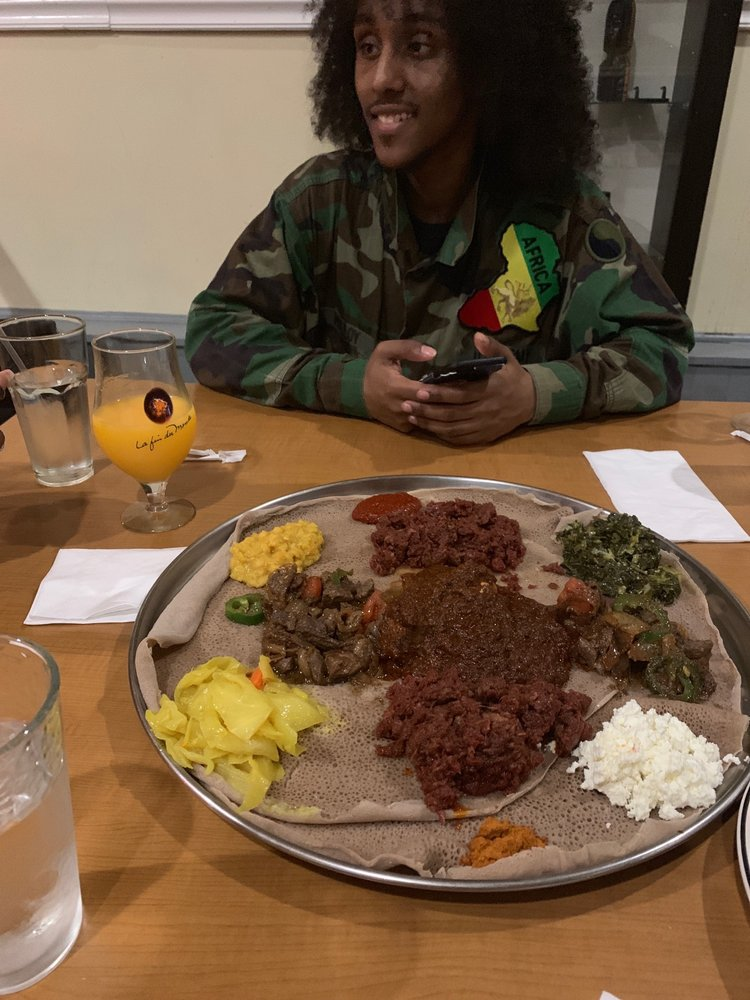 Nile Ethiopian Restaurant: 7815 Georgia Ave NW, Washington, DC, DC