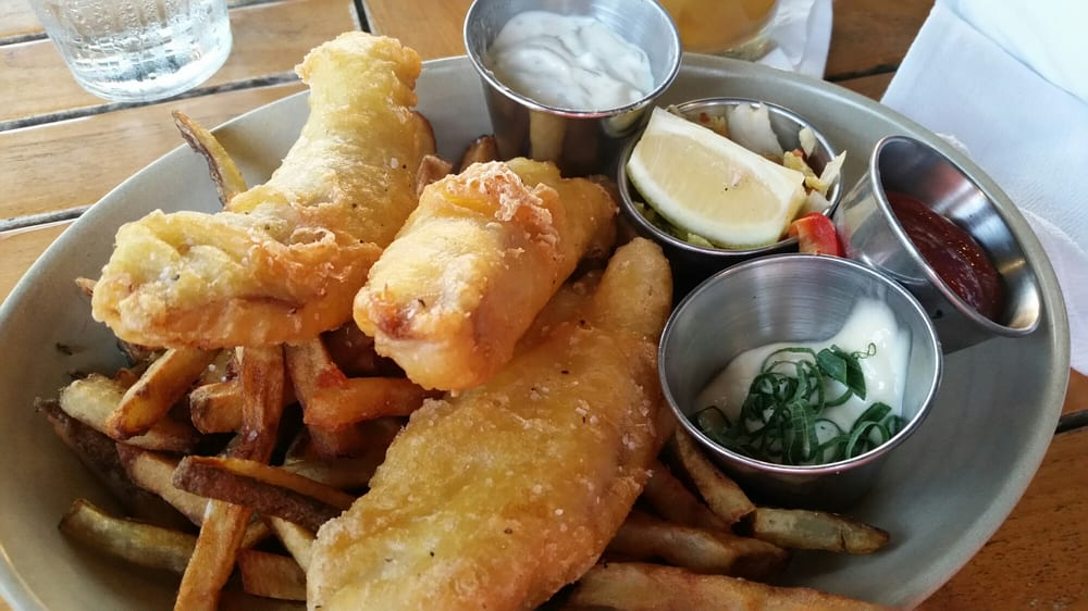 Mahi mahi fish and chips exactly the same serving size for Serving size of fish