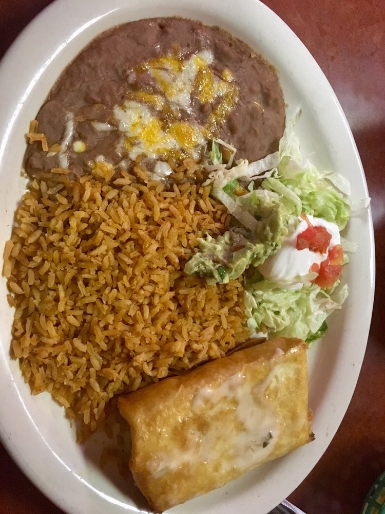 Food from Mariachi Fiesta