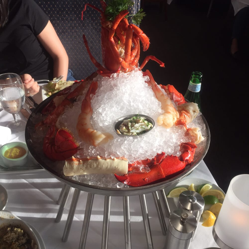 They Just Brought Back The Chilled Seafood Tower