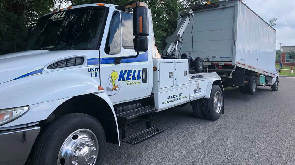 Kell Recovery Towing Service: 6023 Dogwood Dr, Milton, FL
