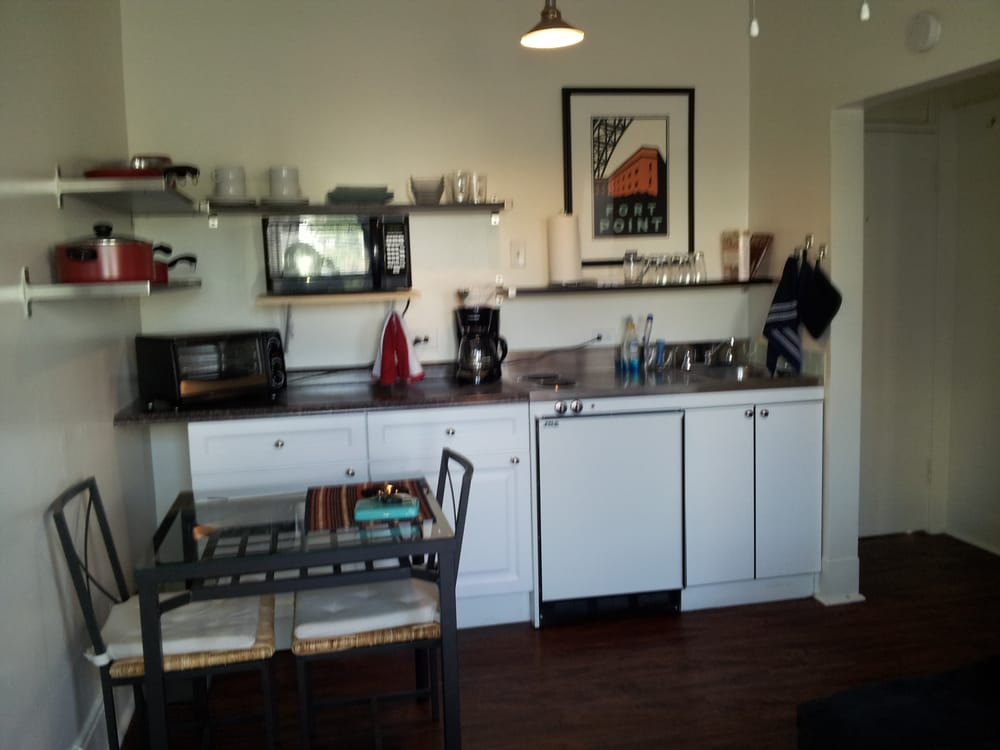 kitchenette in the studio apartment yelp. Black Bedroom Furniture Sets. Home Design Ideas
