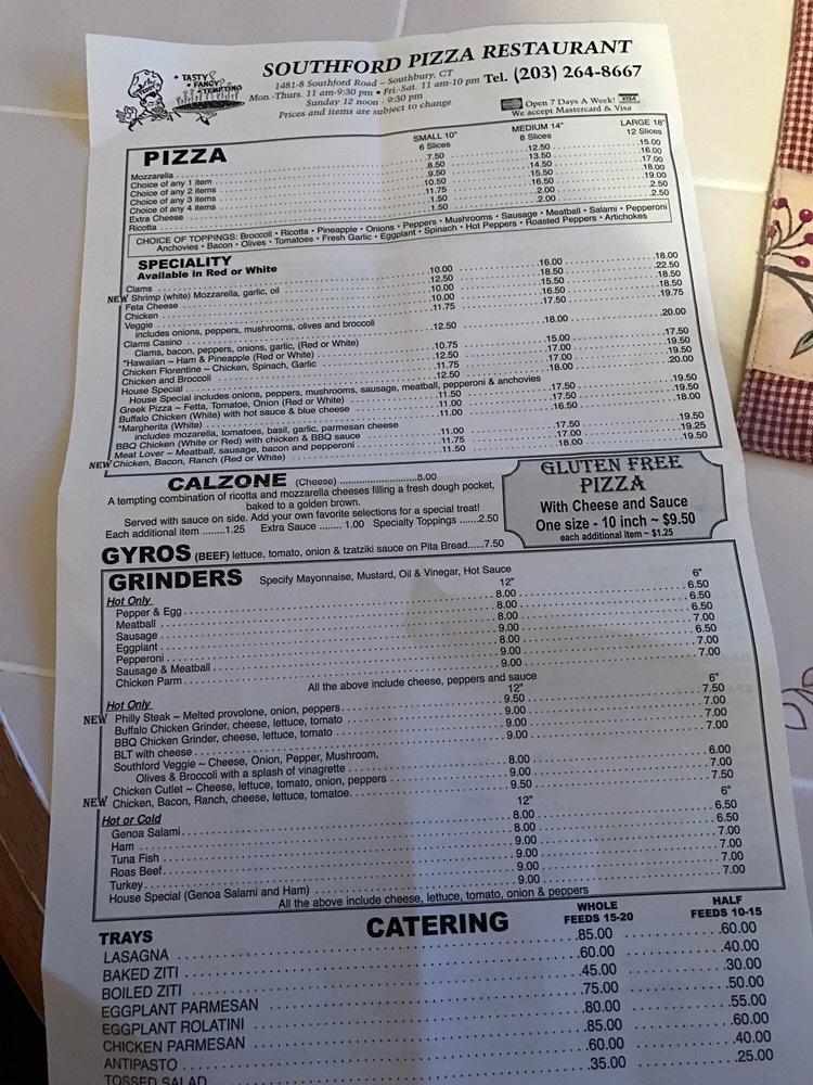Southford Pizza & Restaurant