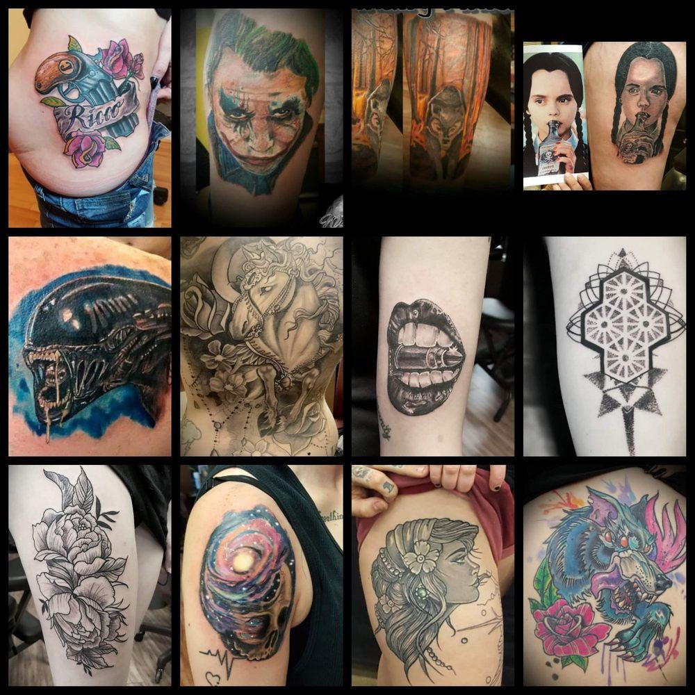 Studio 7 Tattoo And Art Gallery 70 Photos Piercing 3218