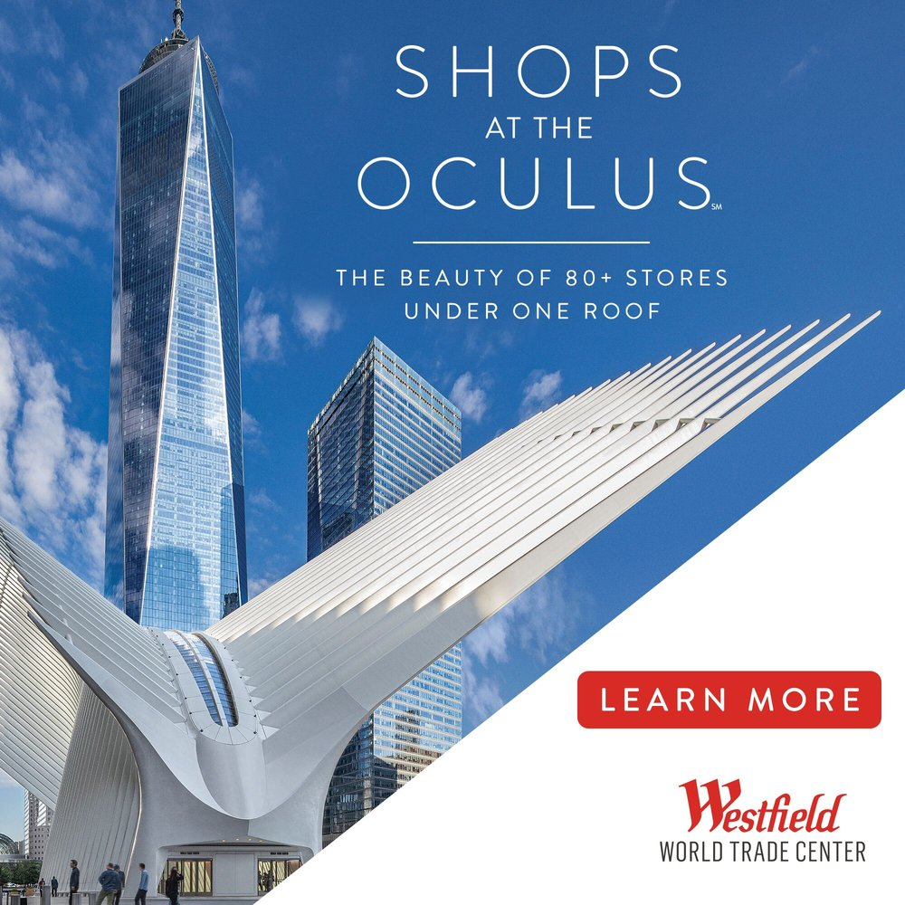 Westfield World Trade Center: 185 Greenwich St, New York, NY