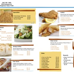 Fish tales express st ngt fish chips 2229 n park for Fish express menu