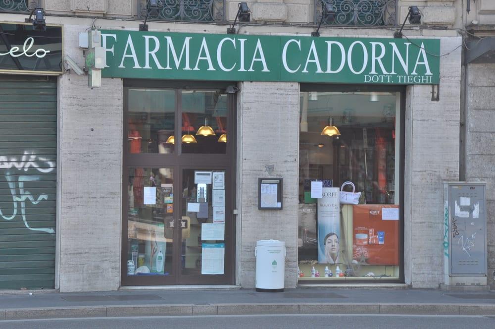 Farmacia Cadorna - Farmacias - Pl. Cadorna Luigi, 11