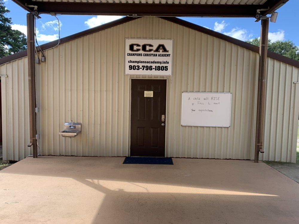 Champions Christian Academy: 702 Holly St, Atlanta, TX