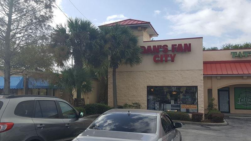 Dan's Fan City: 1104 Cypress Gardens Blvd, Winter Haven, FL