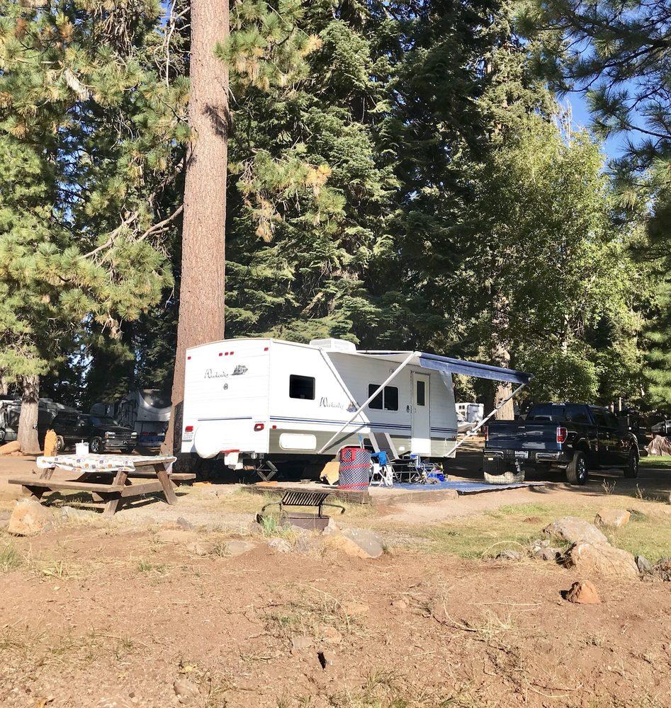 North Shore Campground: 541 Catfish Beach Rd, Chester, CA