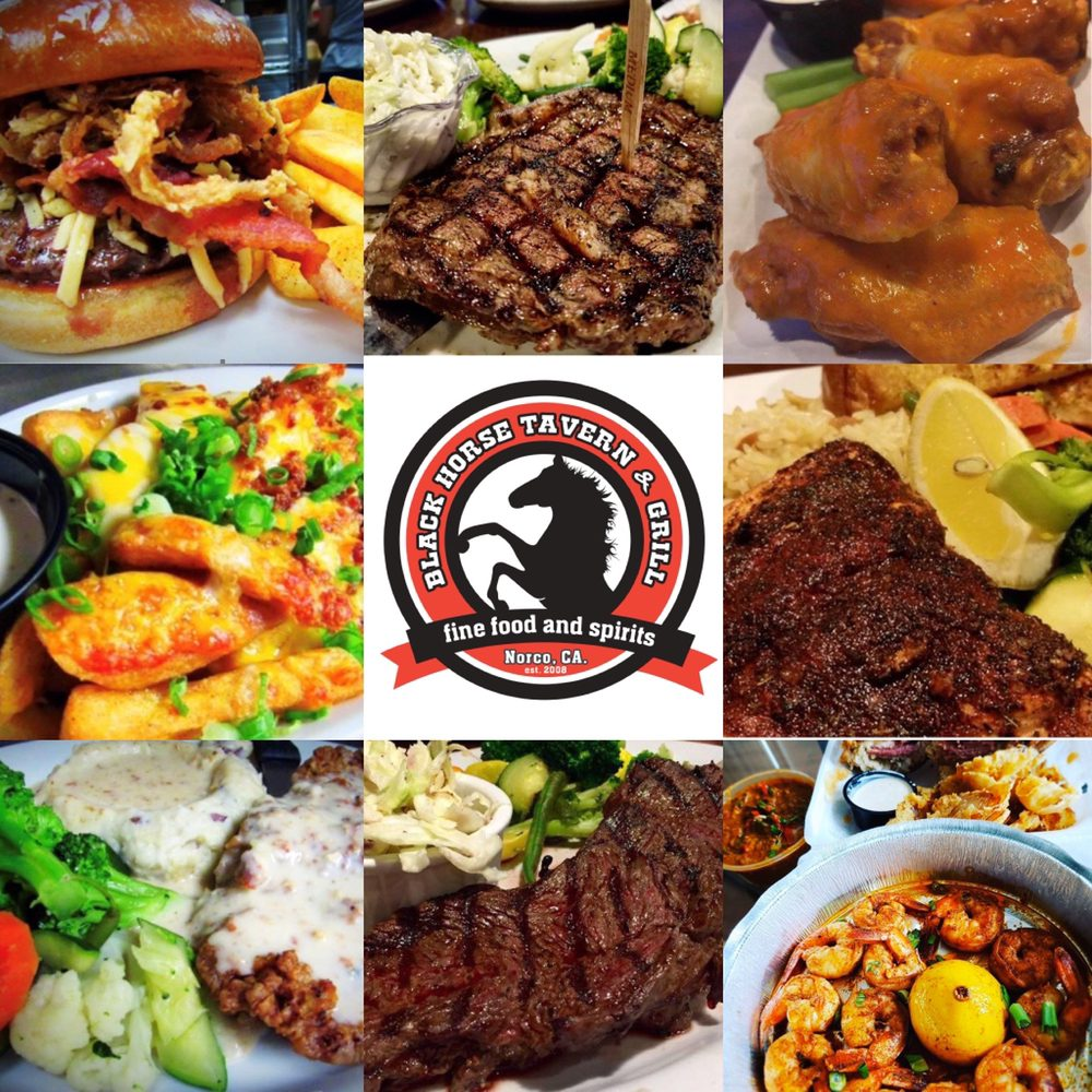Black Horse Tavern and Grill: 1825 Hamner Ave, Norco, CA