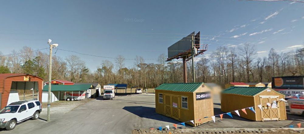 U-Haul Neighborhood Dealer: 8070 US Hwy 70 E, New Bern, NC