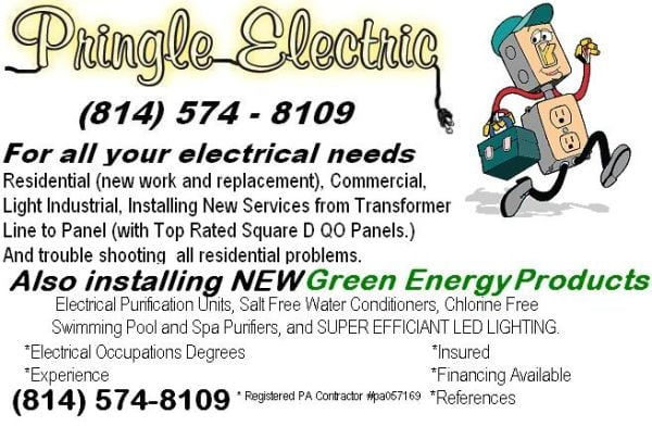 Pringle Electric: 332 E College Ave, State College, PA
