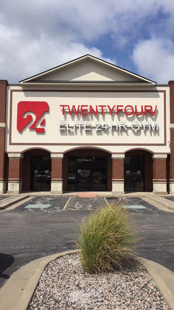 24 - Twentyfour/ Elite 24Hr Gym: 1010 S Madison St, Webb City, MO