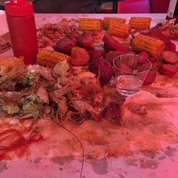 Photo Of The Boiling Pot Restaurant Rockport Tx United States Cajun Combo