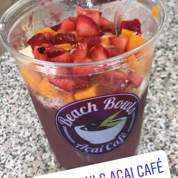 Photo Of Beach Bowls Acai Cafe Redondo Ca United States Delicious