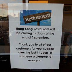 Hong Kong Restaurant Closed 27 Photos 22 Reviews Chinese