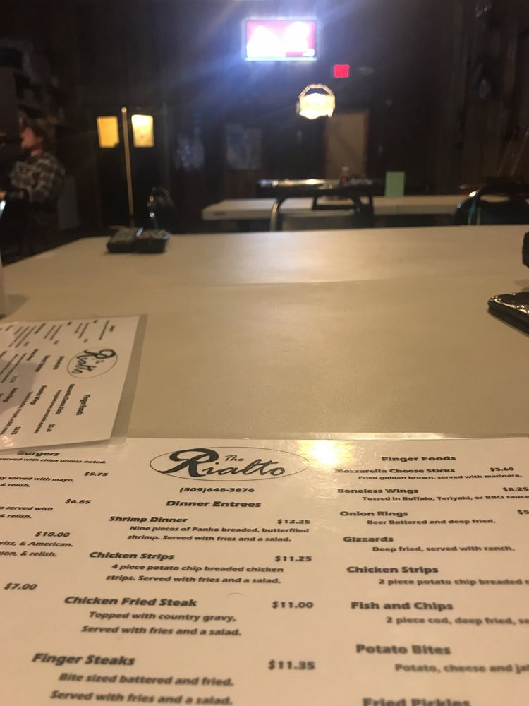 Rialto Tavern: 17 E Front St, Saint John, WA