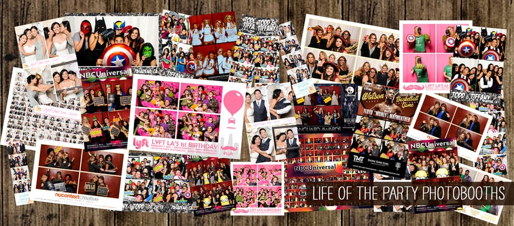 Life of the Party Photobooths