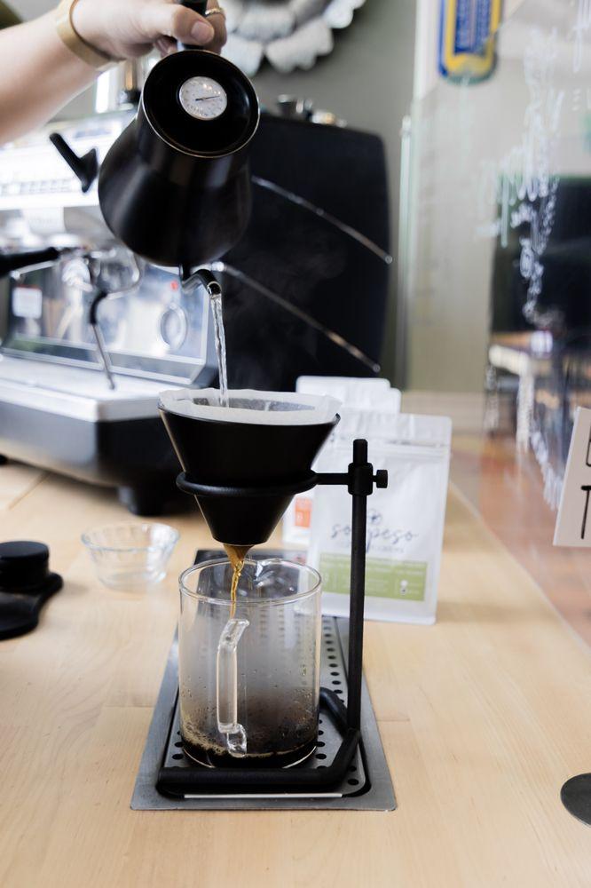 Sospeso Coffee Roasters: 107 W South Main St, Waxhaw, NC