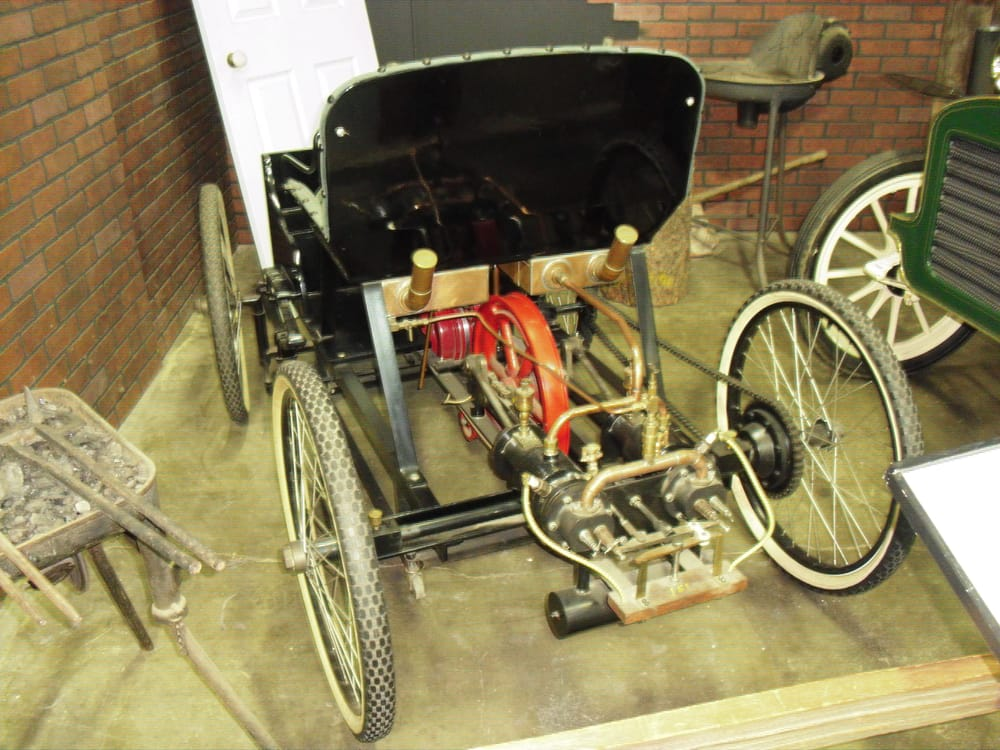 1896 Ford Quadricycle (Replica). Very first car built by Henry Ford ...