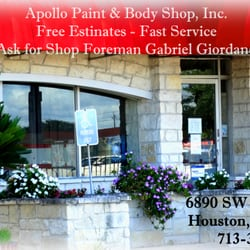 Apollo Paint And Body Reviews
