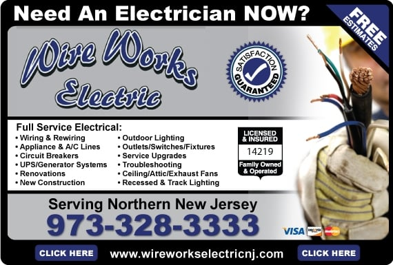 Wire Works Electric: 32 Farview Dr, Hackettstown, NJ