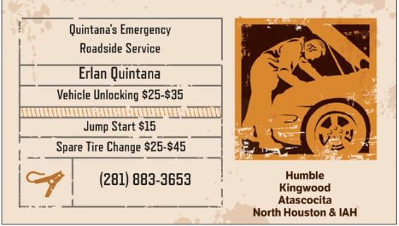 Quintana's: Houston, TX